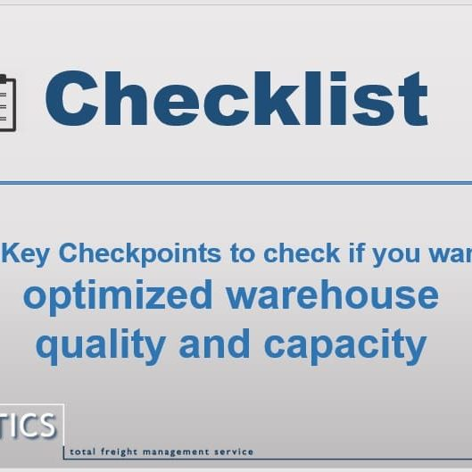 Warehouse checklist VN Logsitics